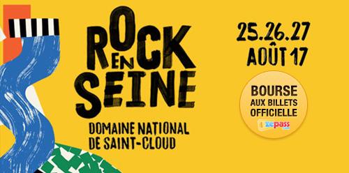 Bourse aux billets de Rock en Seine