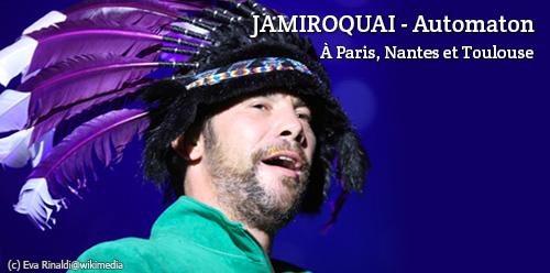Concerts Jamiroquai Automaton