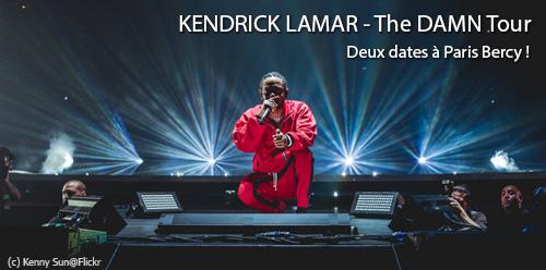 Place de concert pour Kendrick Lamar