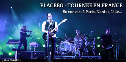 Place concert Placebo