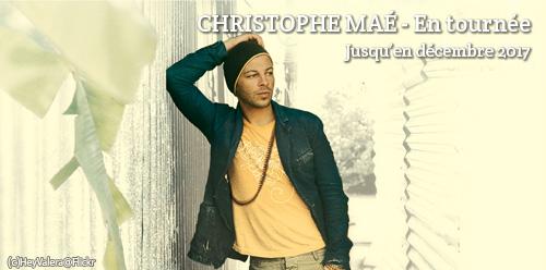 Concerts de Christophe Maé
