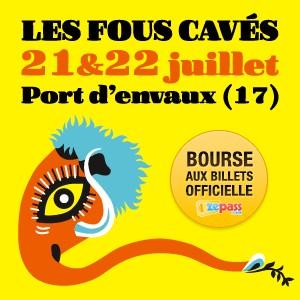 Concert festival Festival Les Fous Cavés 2017